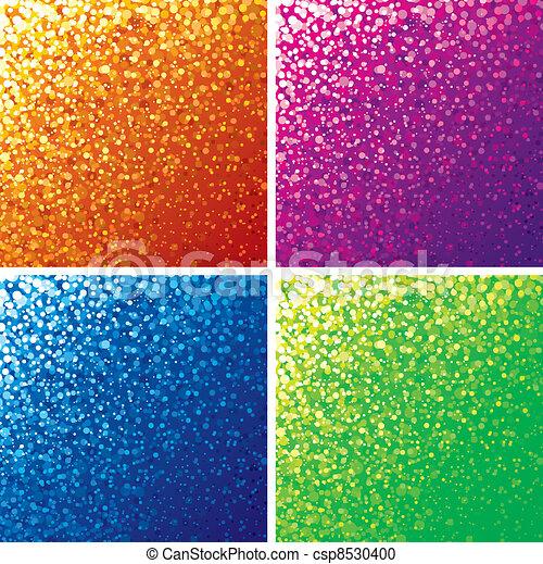 Un fondo de color brillante - csp8530400