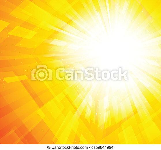 Un brillante fondo de onda - csp9844994