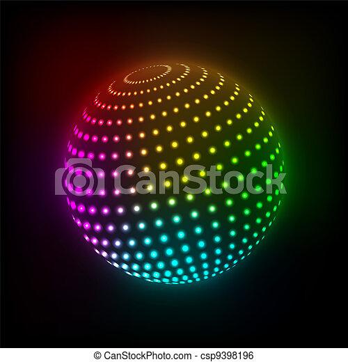 Bola brillante - csp9398196