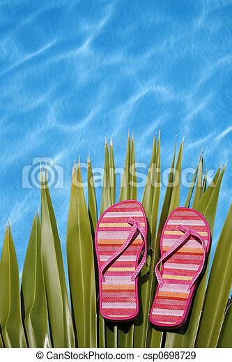 Zapatos de piscina brillantes - csp0698729