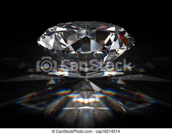 Brilliant diamond - csp16214314