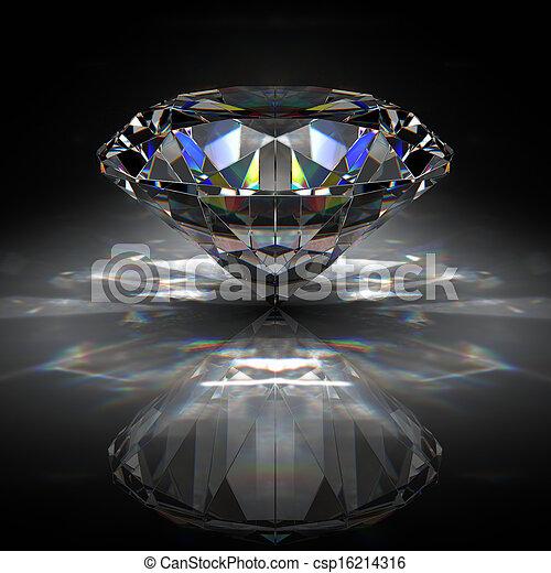 Brilliant diamond - csp16214316