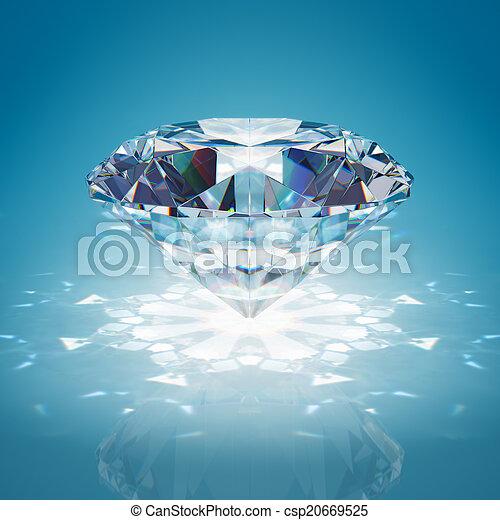 Brilliant diamond - csp20669525