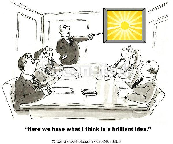 Brilliant Idea - csp24636288