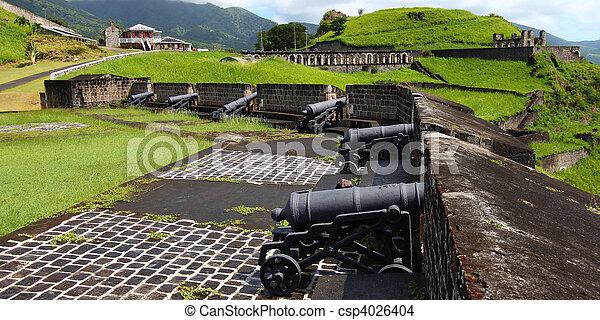 Brimstone Hill Fortress - St Kitts - csp4026404