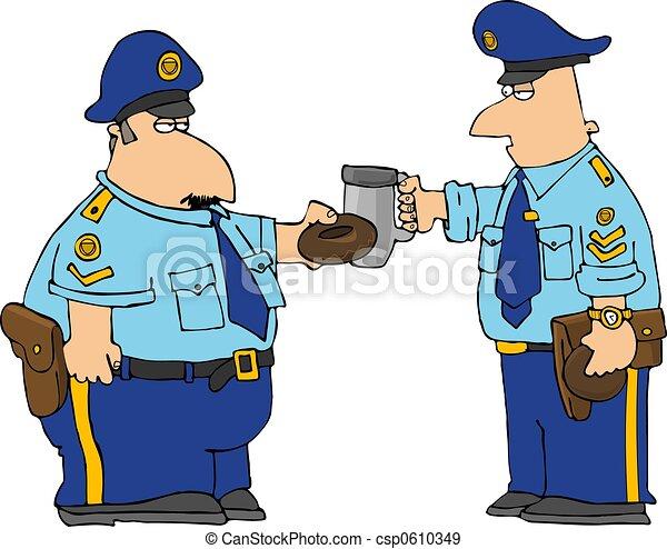 brinde, policeman's - csp0610349