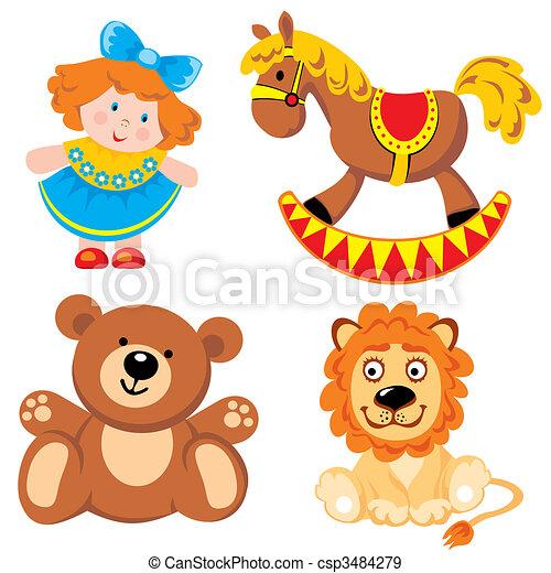 brinquedos - csp3484279