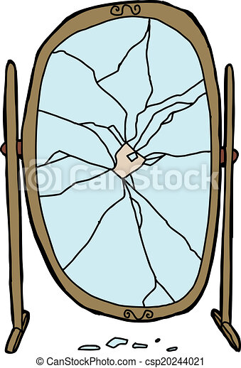 Bris miroir assaisonnement cass unique fond miroir for Miroir casse