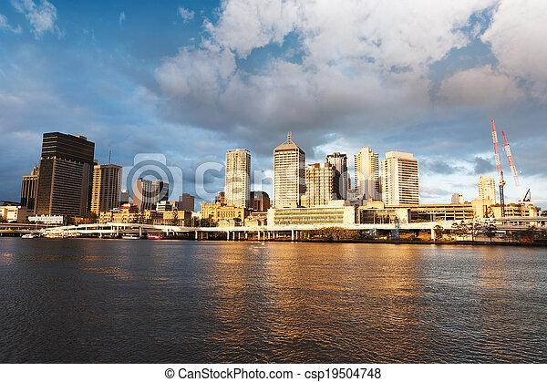 Brisbane urban landscape - csp19504748
