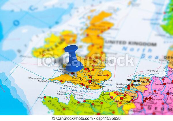 Map Of Bristol England.Bristol Uk Map