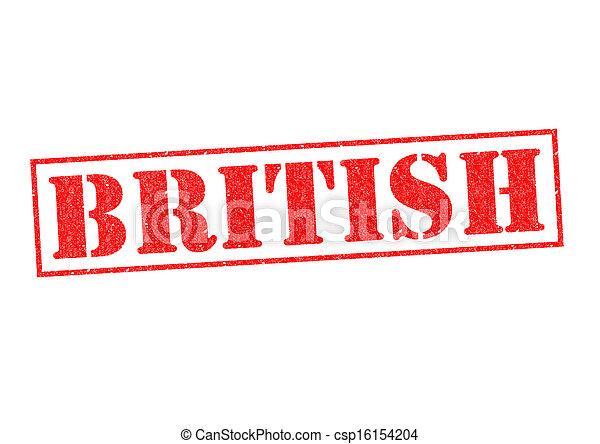 Británico - csp16154204