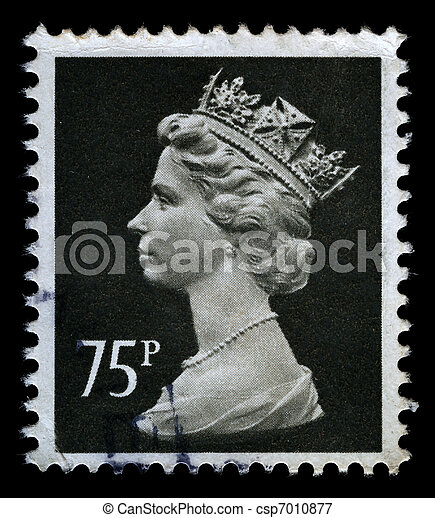 Britain Postage Stamp - csp7010877