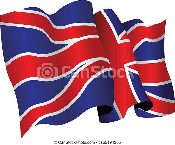 british flag - csp5194355