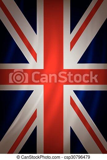 British flag  - csp30796479