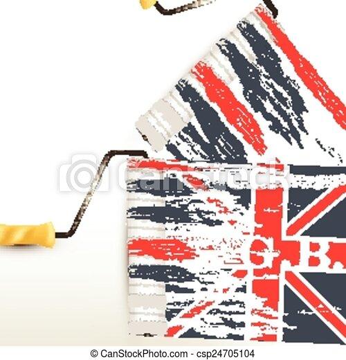 British flag - csp24705104