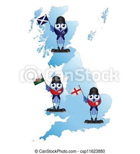 British Isle  - csp11623880