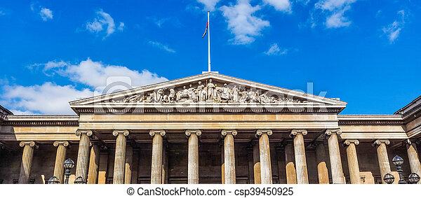 British Museum in London HDR - csp39450925
