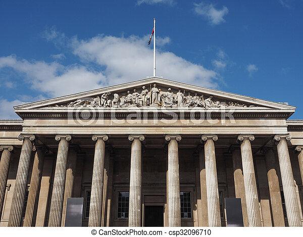 British Museum in London - csp32096710