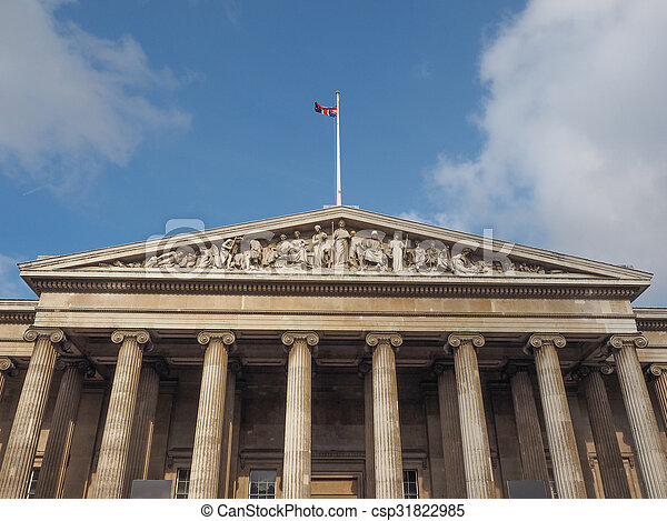 British Museum in London - csp31822985