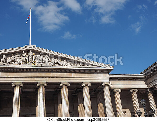 British Museum in London - csp30892557