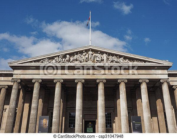 British Museum in London - csp31047948