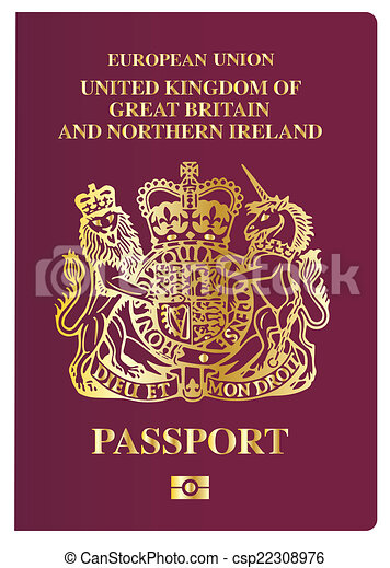 British Passport - csp22308976