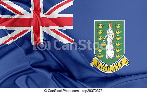 British Virgin Islands Flag. - csp29370373