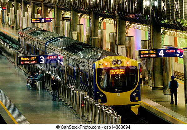 Britomart Transport Centre - csp14383694