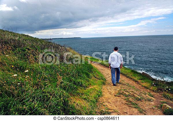 Brittany coast - csp0864611