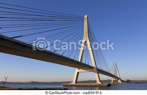 bro, över, flod, guadiana, ayamonte - csp8341814