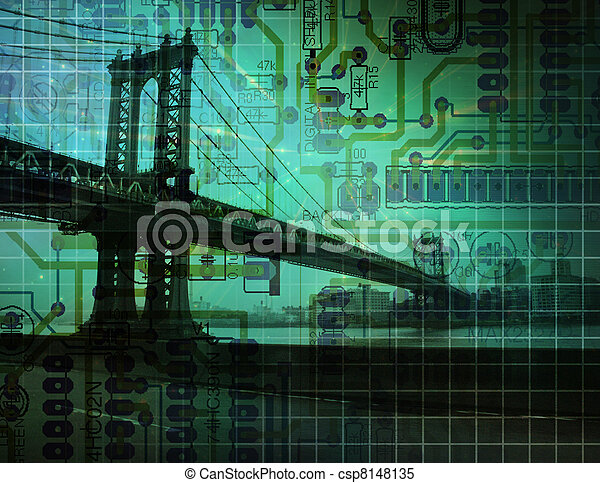 bro, elektronisk - csp8148135