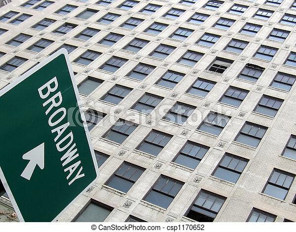 broadway, zeichen - csp1170652