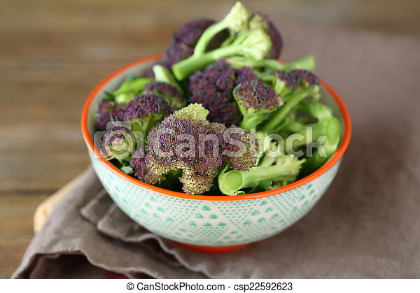 Broccoli in a bowl - csp22592623