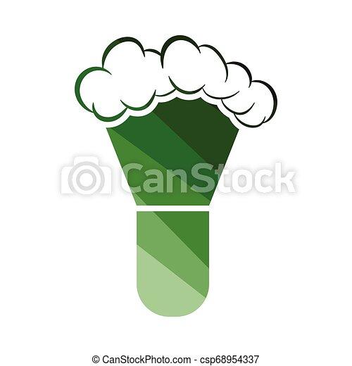 Un icono de cepillo de afeitar - csp68954337