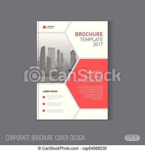 brochure cover design template corporate brochure cover design