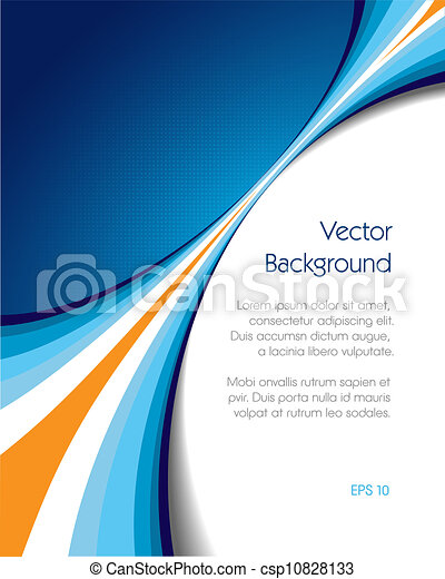 Brochure Cover - csp10828133