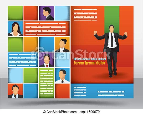 Brochure design template - csp11509679