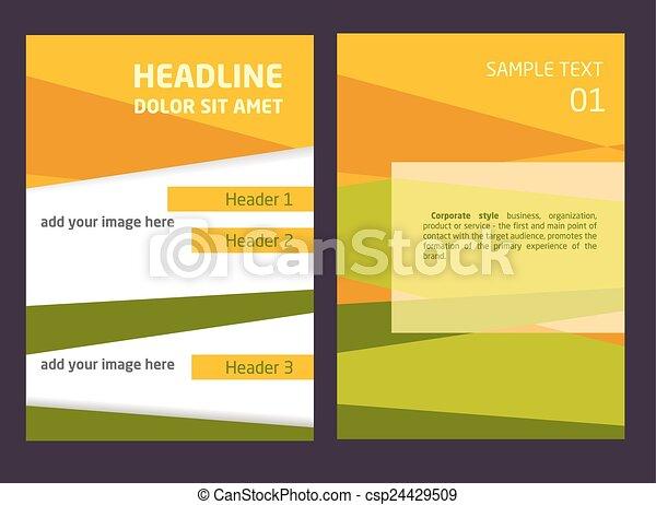 brochure graphic design background