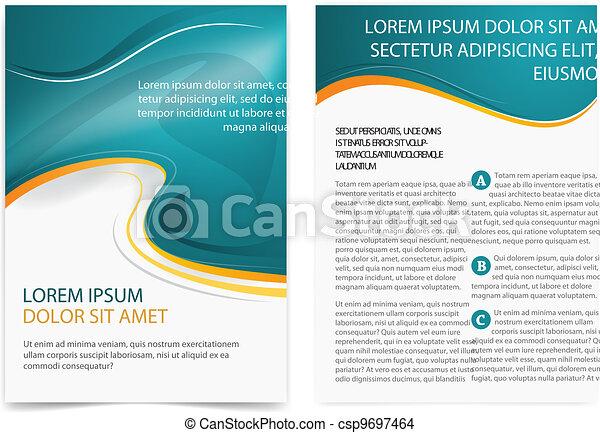 Brochure page - csp9697464