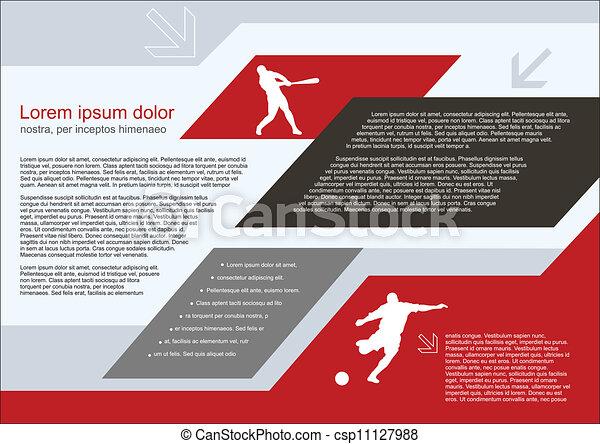 brochure template - csp11127988