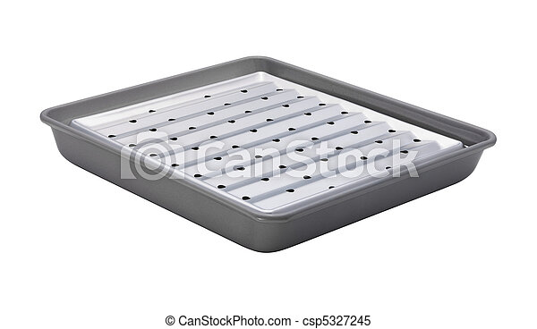 Broiler isolated with a clipping path - csp5327245