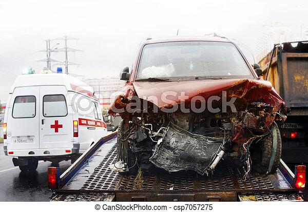 broken automobile - csp7057275