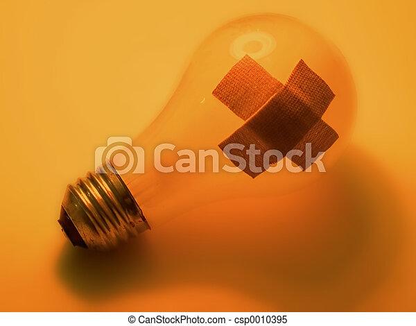Broken bulb - csp0010395