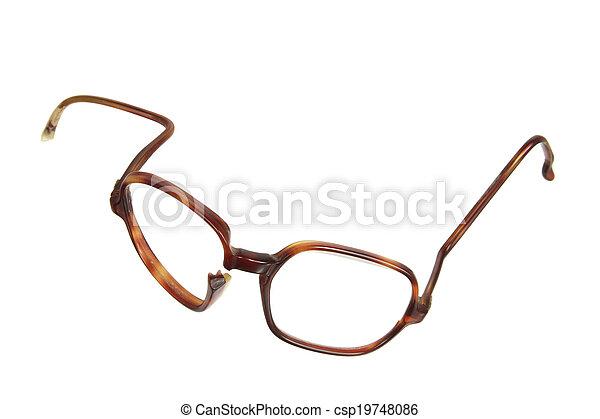 Broken Eyeglasses - csp19748086