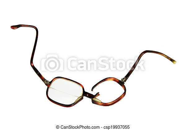 Broken Eyeglasses - csp19937055