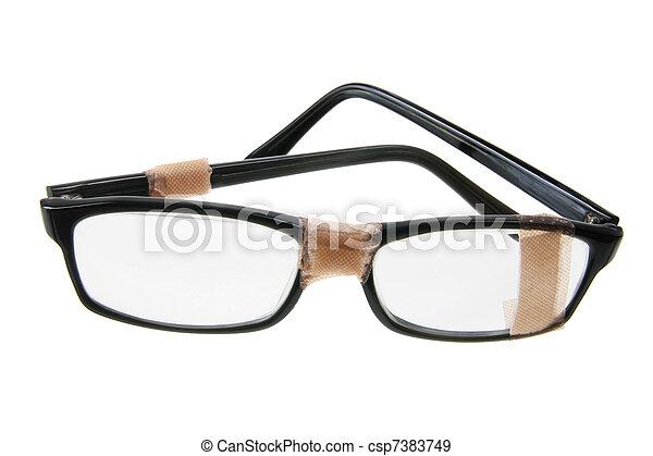 Broken Eyeglasses - csp7383749
