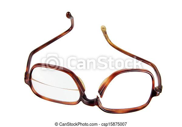Broken Eyeglasses - csp15875007