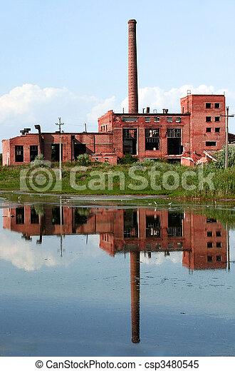 broken factory reflection - csp3480545