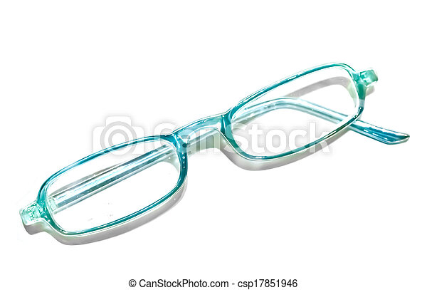 Broken frame of an eye-glasses.