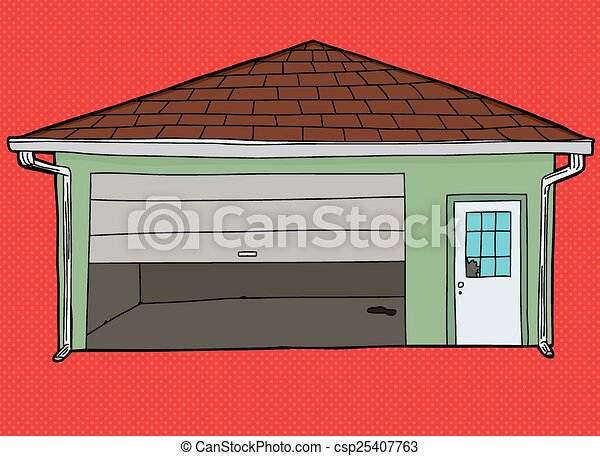 red barn doors clip art. broken garage door over red - csp25407763 barn doors clip art